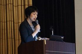 放影研研究員が広島市医師会のイベントで基調講演  学生たちにエール