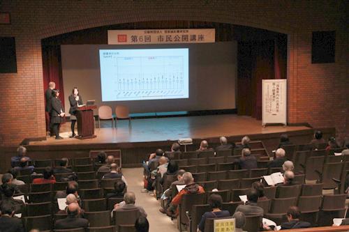 引き続いて翌日広島でも市民公開講座を開催