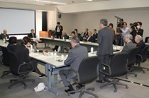 """""""Stakeholder Committee on Usage of A-bomb Survivors' Biosamples"""" holds first meeting (Friday May 11, 2018 / Hiroshima University School of Medicine, """"Kojin Kaikan"""")"""