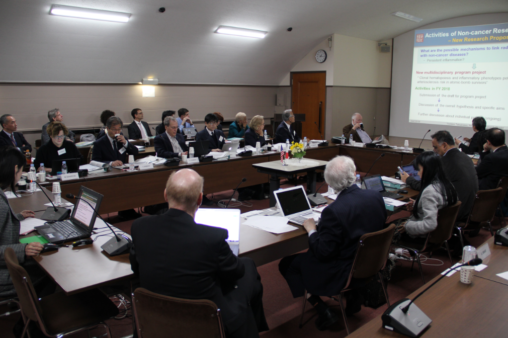Scientific Advisory Committee Holds Annual Meeting at Hiroshima RERF Over Three Days